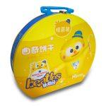 China Supplier Tin Box Manufacturer New Design Biscuit Cookie Tin Box