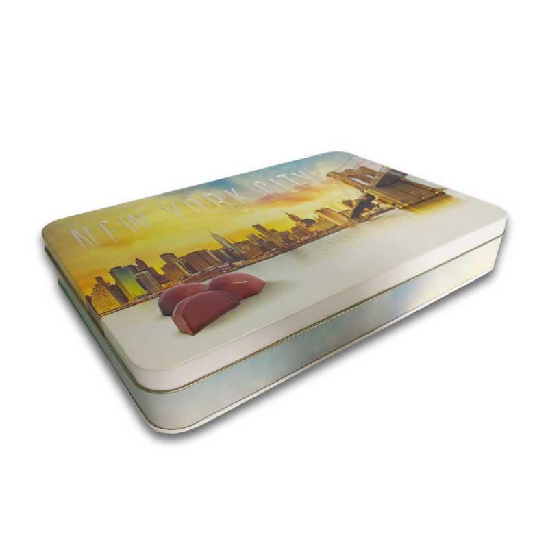 Custom Small/Large Boxes Tinplate Chocolate Tin Box