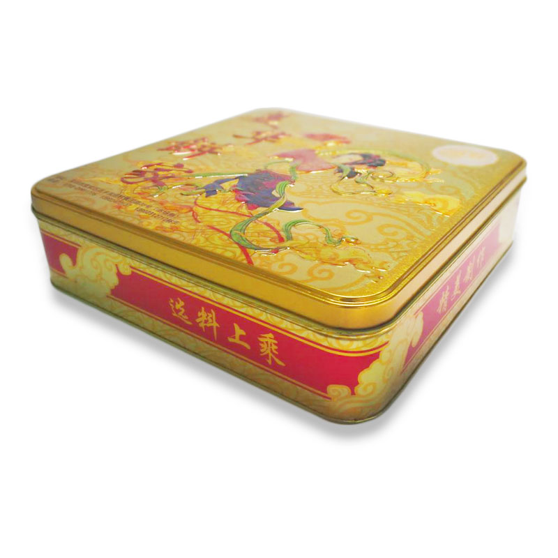 OEM/ODM Biscuit Box Packaging Christmas Cookie Tin Box