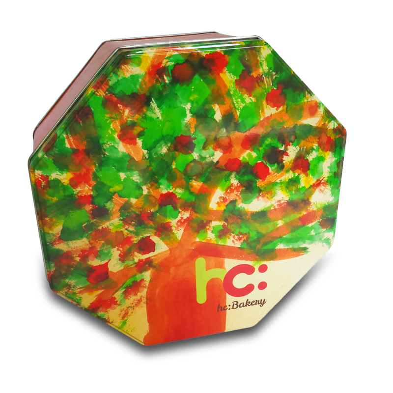 Biscuit Case Baby Birthday gift Box Wedding candy box Chocolate Storage Case-mix