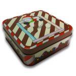 China Supplier Custom Print Christmas Gift Chocolate Tin Box