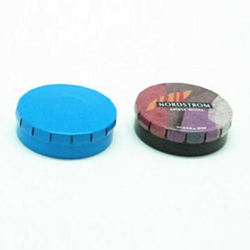 China Custom Food Chocolate Round Tin Box
