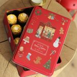 Christmas Tin Box for Gift
