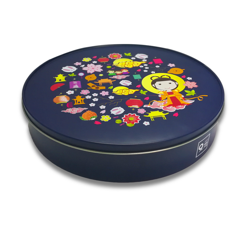 Display Tin Boxes With Lids For Biscuit Cookie Tin Box