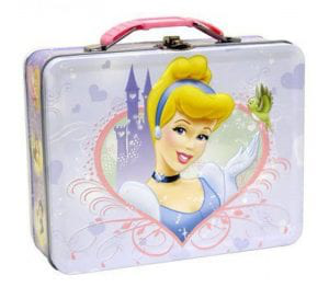 Disney Princess Cinderella Metal Girls Lunch Box