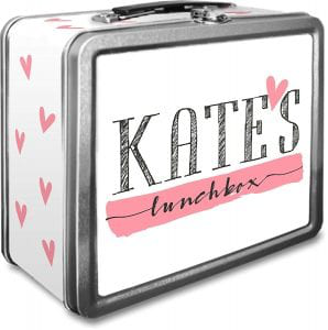 Personalized Tin Lunch Box china