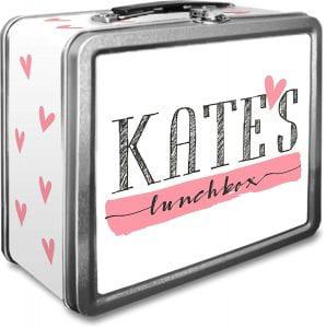 Personalized Tin Lunch Box china